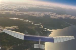 Facebook buys UK-based drone company Ascenta to 'beam' internet from the sky