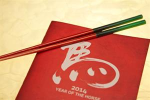 Ping Pong unveils 'fortune-telling' chopsticks for Chinese New Year
