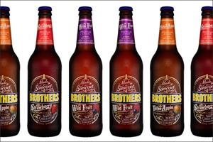 Brothers Cider unveils premium packaging