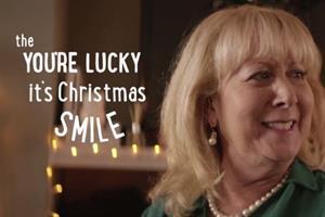 Asda TV ad puts a 'smile' at the heart of Christmas