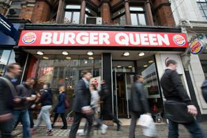 Burger King becomes Burger Queen in royal birthday rebrand