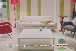 Gumtree's Celebrity Big Brother ads portray furniture as spoiled housemates