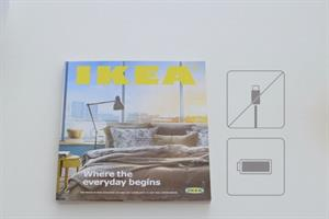 Ikea parodies Apple's iPad for launch of 2015 'Bookbook' catalogue