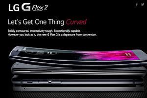 LG unveils 'self healing' G Flex 2 curved smartphone
