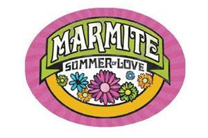 Marmite readies 'summer of love' campaign with flower-power logo design