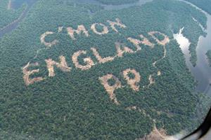 Paddy Power enters choppy waters with World Cup Amazon deforestation stunt