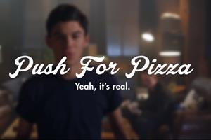 Push for Pizza app lets agoraphobic users push button 'and pizza comes'
