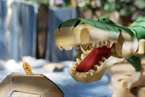 Hand-crafted dodos and dinosaurs roam free in Kellogg's Rice Krispies ad
