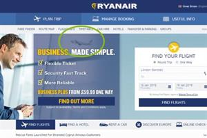 Ryanair in Twitter spat after Aer Lingus photobombs ad