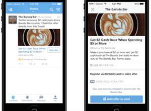 Twitter forges closer ties with the high street with 'Offers' launch