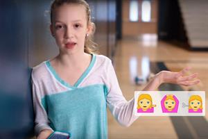 Emojis are sexist, says P&G in latest Always #LikeAGirl spot