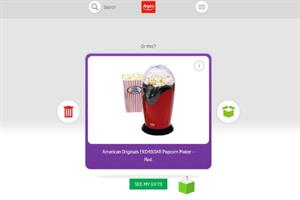 Argos apes Tinder for Christmas gift finding app