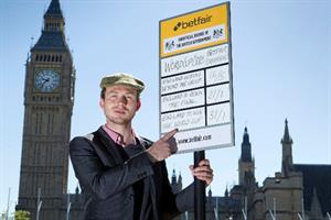 Betfair sets up betting stall outside parliament to offer Government odds on England