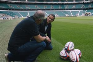 Canon teams up with Bear Grylls for Rugby World Cup behind-the-scenes