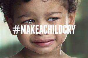 Make a child cry, urges healthcare NGO