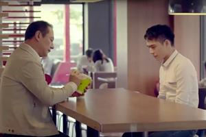 McDonald's ad showing a young man coming out goes viral