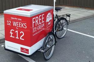 Woodlice-cream anyone? The Economist hands out frozen treats containing insects