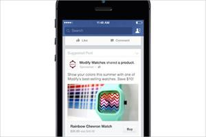 Facebook eyes greater slice of ecommerce market with 'Buy' button trial