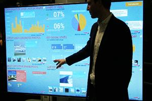 Watch: behind the scenes at IBM's big data and social innovation studio