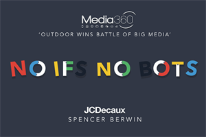 #NoIfsNoBots: Outdoor Wins Battle of Big Media at Media360