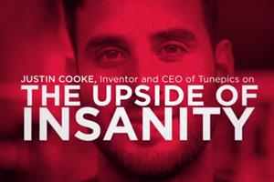 Ex-Topshop CMO and Tunepics founder Justin Cooke on 'insanity' and Einstein