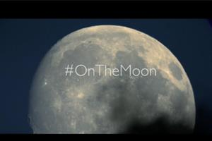 Is #OnTheMoon a teaser for the John Lewis 2015 Christmas ad?