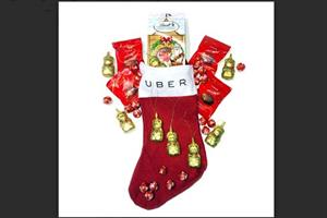 Uber  festive stunt doles out free taxis for charity