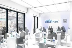 Glacéau Smartwater brings solo dining experience to London
