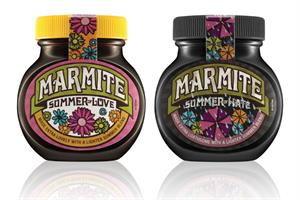 Unilever introduces limited edition 'Summer of Love' (and hate) Marmite jars
