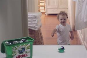 P&G TV ad for Ariel warns liquitabs pose danger to kids
