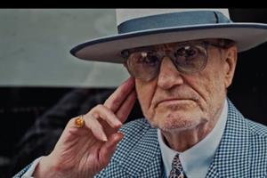 Poet Harry Baker celebrates eclectic spirit of Soho in London Fashion Week spot