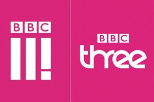 The buzz: BBC Three unveils new logo