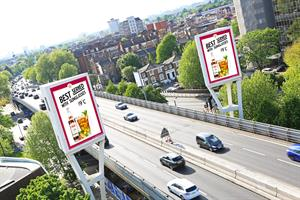 Pimm's launches weather activated OOH campaign