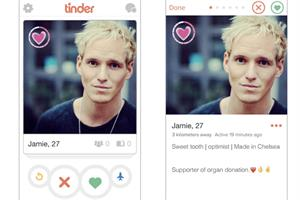 NHS partners with Tinder for organ donor campaign