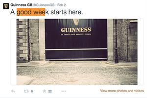 Guinness social media account escapes tweet ban