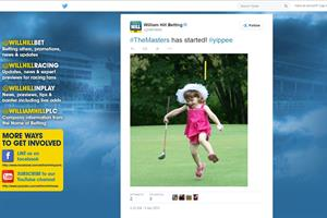 Gambling ad on Twitter should not have shown child, says William Hill