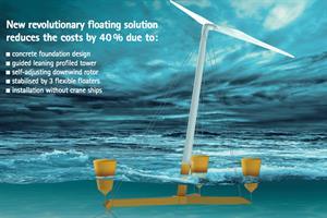 Aerodyn to launch floating platform
