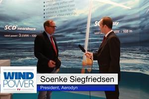 WindEnergy 2014: Aerodyn floating platform 'cuts costs by 45%'