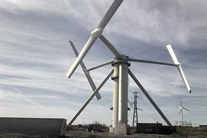 First 2MW Vertiwind vertical-axis prototype built