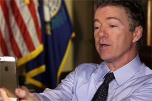 Rand Paul's Snapchat interview sets up social media-driven election season