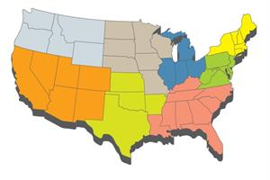 The US regions with the biggest spikes in PR salaries