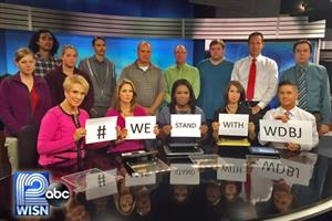 #WeStandWithWDBJ: Journalists across the nation band together over shooting
