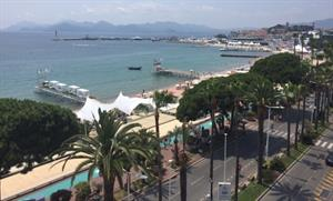Tectonic plates of Cannes are shifting