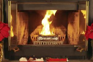 How 9 brands added their own Yule logs to the Christmas fireplace trend