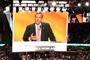 From Cleveland: Christie fires up convention crowd with mock trial of Hillary Clinton