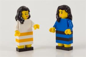 Who real-timed #TheDress best - Lego, Pizza Hut, or Denny's?