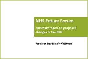 NHS Future Forum Report - the key recommendations