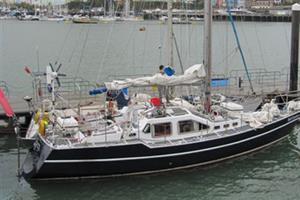 Retired district nurse sails the Atlantic for QNI