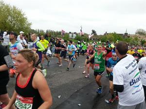 GP Dr Stuart Bingham completes 22nd consecutive London marathon