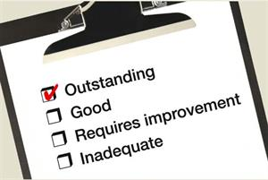 Which areas have the most GP practices rated outstanding by the CQC?